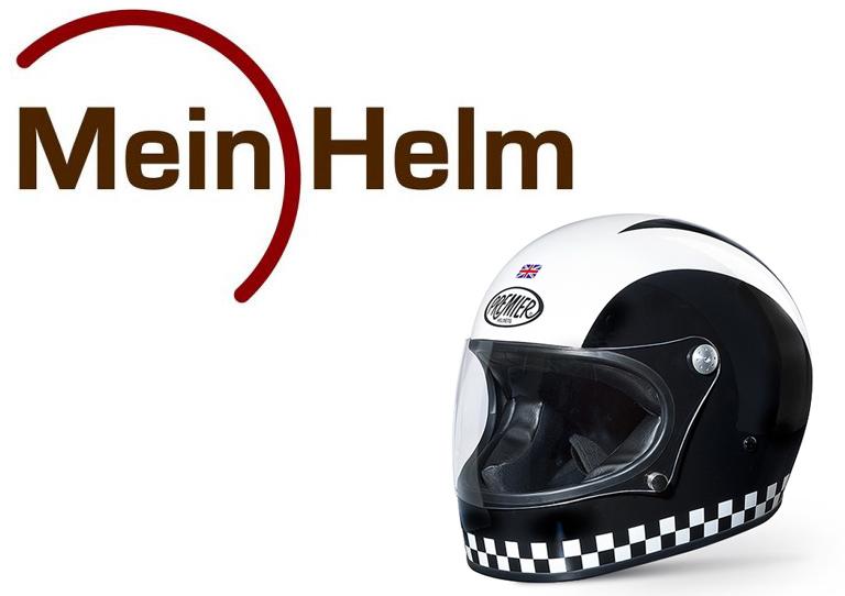 Kecheer Motorr/äder Gradient Ramp Helm Dekorieren Z/öpfe Retro Motorrad Helm Z/öpfe