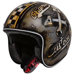 Motorradhelm Retro Jethelm Premier Le Petit Custome Part