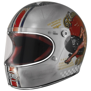 Motorradhelm Premier TROPHY OLD STYLE PIN-UP