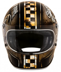 Motorradhelm - Premier - Trophy - Custom Part